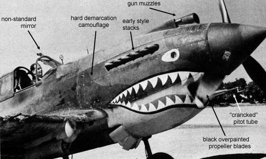 P 40 Armament