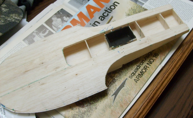 how to build a balsa wood boat