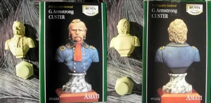 Amati 1/10 Custer bust Amati_Custer_bust